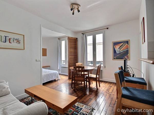 Paris - 1 Bedroom apartment - Apartment reference PA-1833