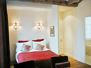 Paris Studio T1 appartement location vacances - séjour (PA-1924) photo 4 sur 4
