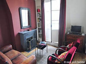 Paris Studio T1 appartement location vacances - séjour (PA-1924) photo 1 sur 4
