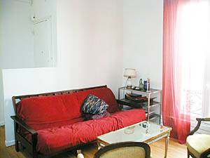 Paris 1 Bedroom accommodation - living room (PA-1954) photo 2 of 7