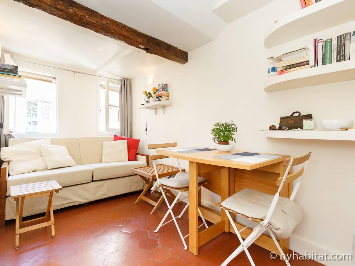Appartamento a parigi 1 camera da letto solferino for Appartamenti a parigi