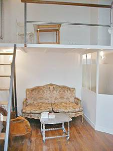 Paris Studio - Duplex apartment - living room (PA-2082) photo 1 of 6