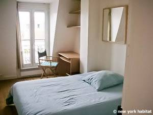 Paris 3 Bedroom apartment - bedroom 2 (PA-2112) photo 1 of 1