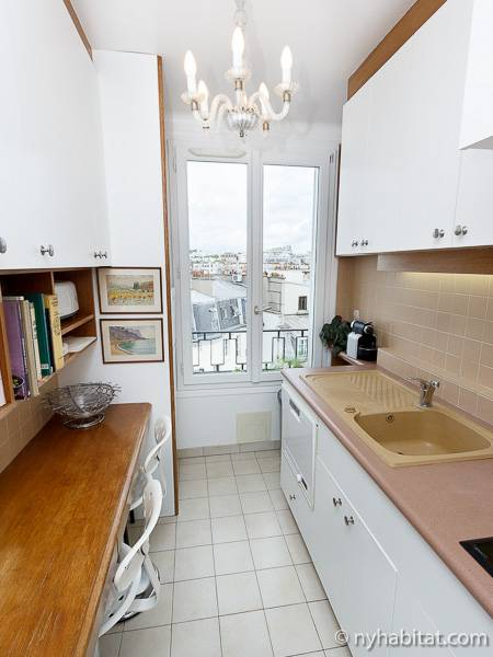 Paris Studio accommodation - kitchen (PA-2135) photo 1 of 6
