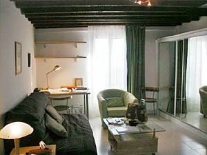 Paris Studio apartment - living room (PA-2148) photo 2 of 3