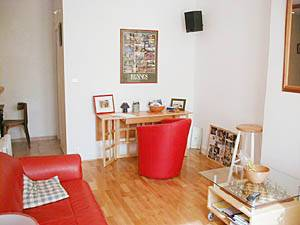 Paris 1 Bedroom apartment - living room (PA-2170) photo 3 of 5