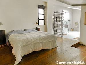 Parigi 2 Camere da letto - Loft - Triplex appartamento - camera 1 (PA-2332) photo 1 di 5