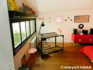 Parigi 2 Camere da letto - Loft - Triplex appartamento - camera 2 (PA-2332) photo 2 di 4