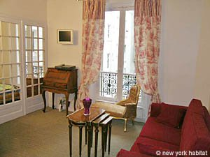 Paris 1 Bedroom accommodation - living room (PA-2410) photo 1 of 8
