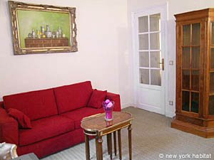 Paris 1 Bedroom accommodation - living room (PA-2410) photo 6 of 8
