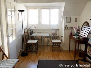 Paris Studio T1 appartement location vacances - séjour (PA-2516) photo 6 sur 9