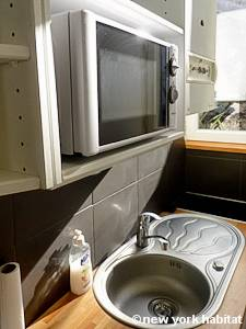 Paris Studio T1 appartement location vacances - cuisine (PA-2516) photo 2 sur 5