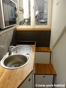 Paris Studio T1 appartement location vacances - cuisine (PA-2516) photo 1 sur 5
