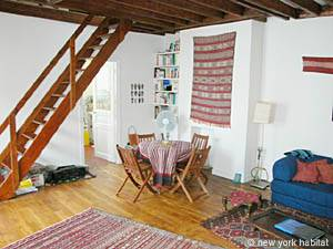 Paris - 1 Bedroom accommodation - Apartment reference PA-2537