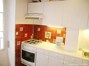 Paris T3 logement location appartement - cuisine (PA-2597) photo 2 sur 3