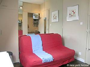 Paris Studio apartment - living room (PA-2648) photo 1 of 6