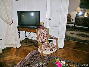 Paris 1 Bedroom apartment - living room 1 (PA-2657) photo 3 of 5