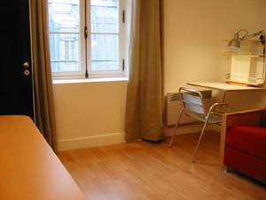Paris Studio T1 logement location appartement - séjour (PA-2703) photo 2 sur 2
