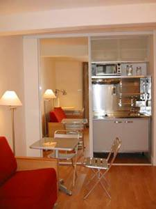 Paris Studio T1 logement location appartement - cuisine (PA-2703) photo 1 sur 2