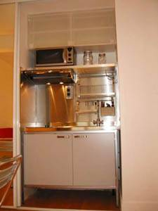 Paris Studio T1 logement location appartement - cuisine (PA-2703) photo 2 sur 2
