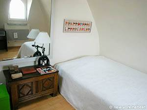 Paris T3 appartement location vacances - chambre 1 (PA-2719) photo 1 sur 4