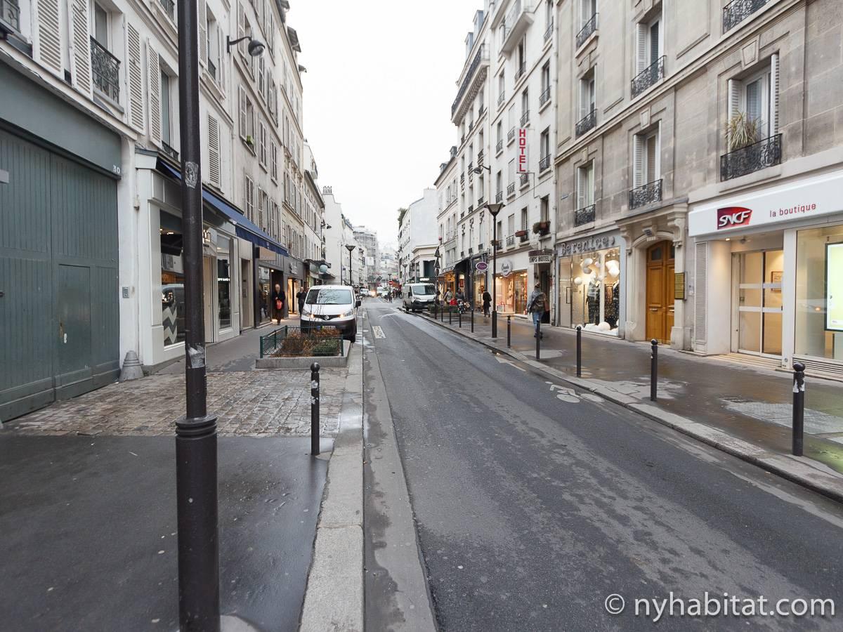 Logement paris location meubl e t2 grenelle pa 2791 - Location meublee paris 15 ...