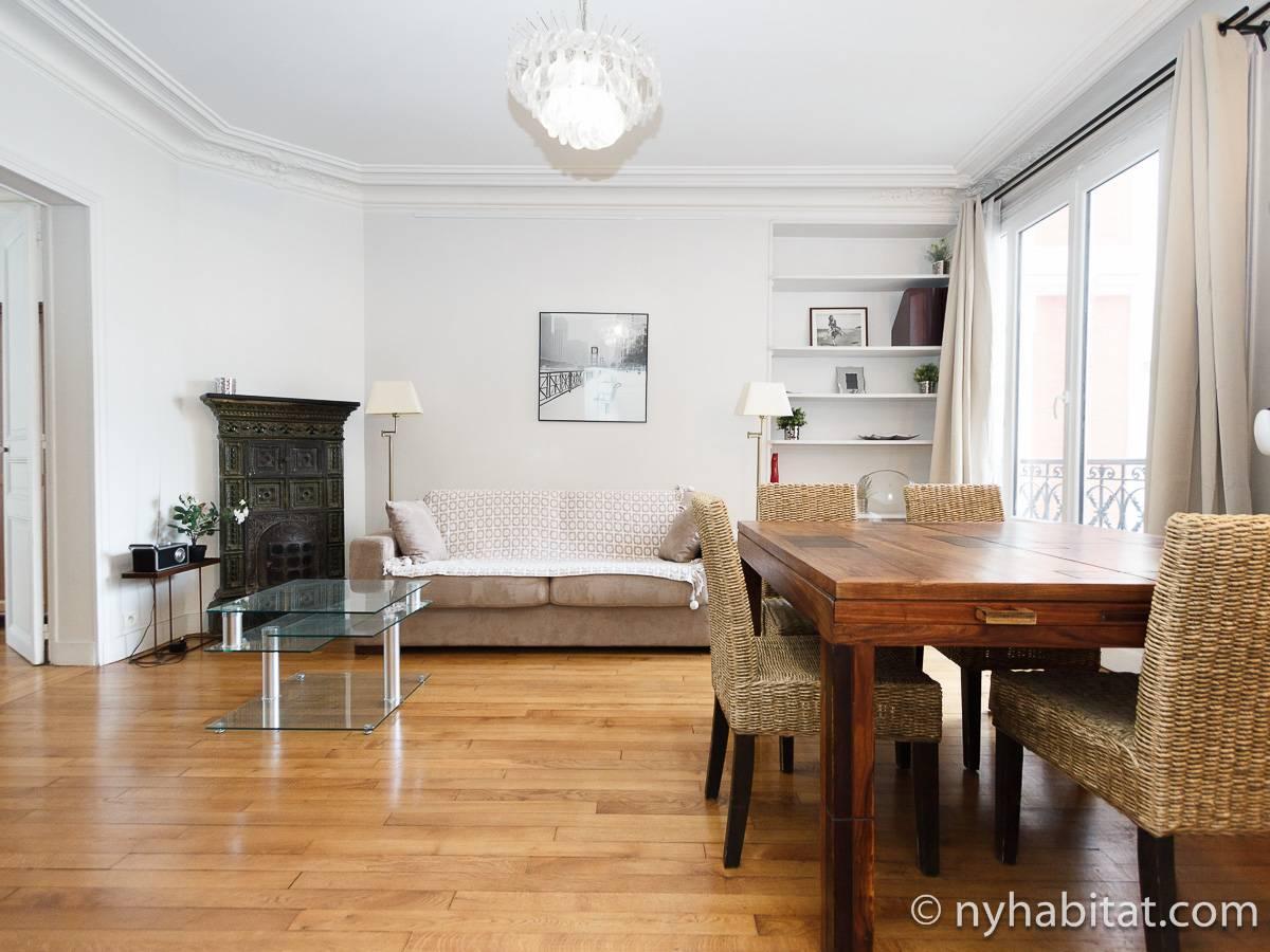 Appartamento a parigi 2 camere da letto place de for Soggiorno a parigi