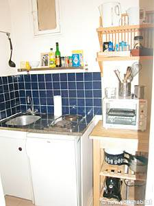 Paris Studio T1 logement location appartement - cuisine (PA-2810) photo 1 sur 3