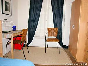 Paris Studio T1 logement location appartement - séjour (PA-2810) photo 4 sur 6
