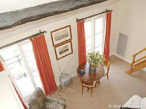 Paris Alcove Studio - Duplex apartment - living room (PA-2834) photo 8 of 13