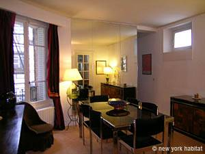 Paris 2 Bedroom accommodation - living room 2 (PA-2843) photo 1 of 5