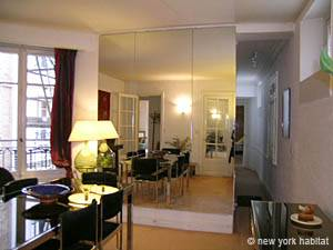 Paris 2 Bedroom accommodation - living room 2 (PA-2843) photo 2 of 5