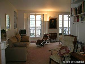 Paris 2 Bedroom accommodation - living room 1 (PA-2843) photo 1 of 11