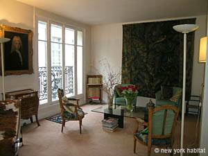 Paris 2 Bedroom accommodation - living room 1 (PA-2843) photo 5 of 11