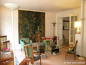 Paris 2 Bedroom accommodation - living room 1 (PA-2843) photo 7 of 11