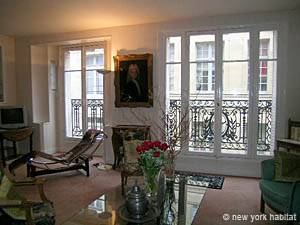 Paris 2 Bedroom accommodation - living room 1 (PA-2843) photo 4 of 11