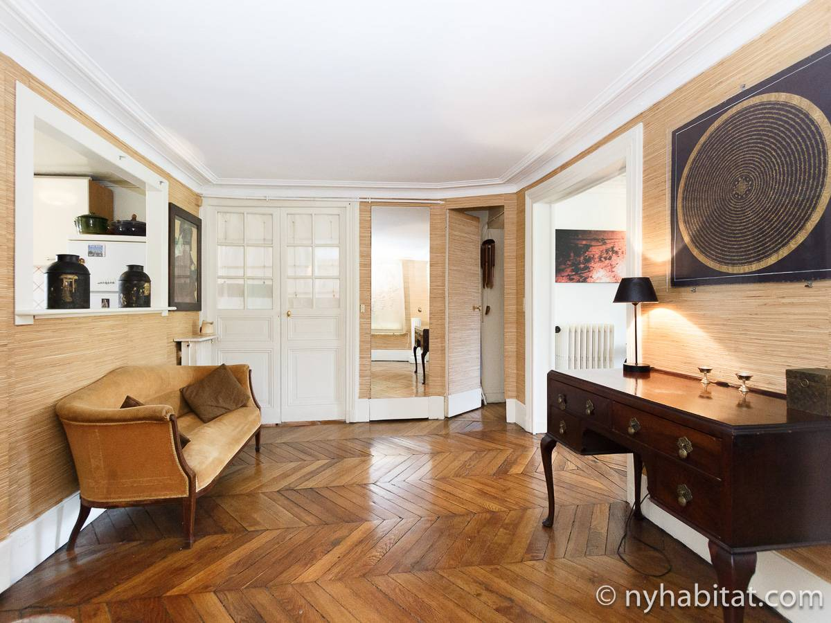 Paris 2 Bedroom accommodation - living room (PA-2961) photo 13 of 15