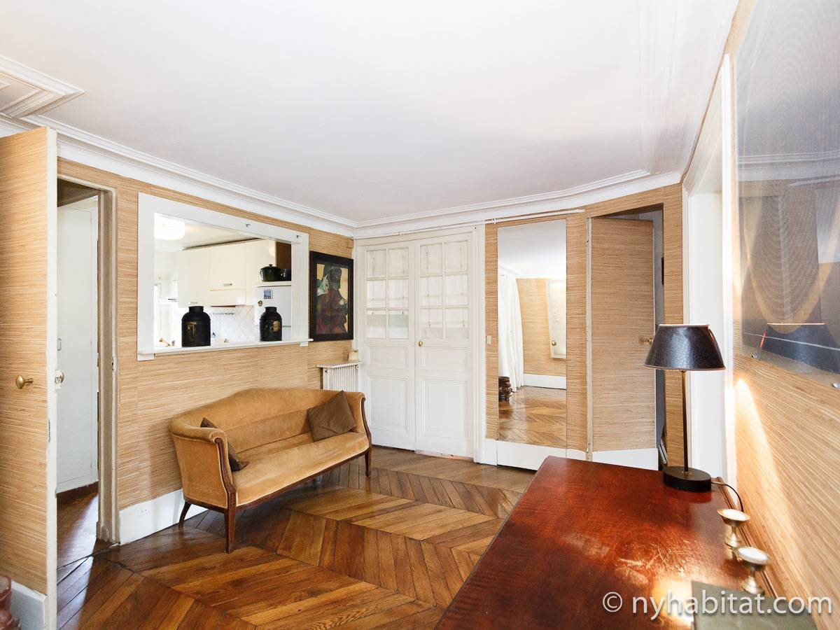 Paris 2 Bedroom accommodation - living room (PA-2961) photo 12 of 15