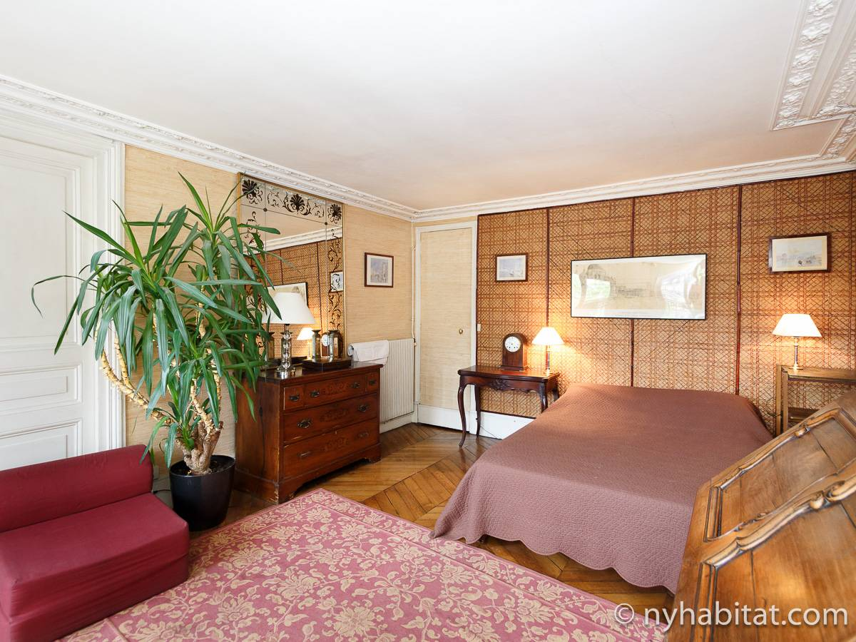 Paris 2 Bedroom accommodation - bedroom 1 (PA-2961) photo 1 of 6