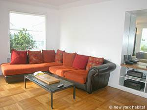 Paris 1 Bedroom apartment - living room (PA-2966) photo 3 of 14