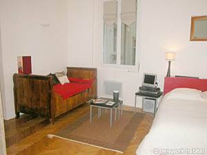 Paris Studio accommodation - living room (PA-3030) photo 4 of 8