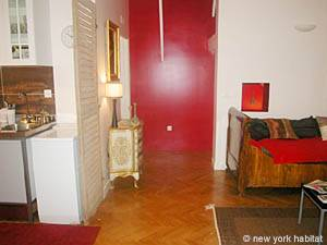 Paris Studio accommodation - living room (PA-3030) photo 6 of 8
