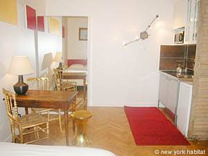 Paris Studio accommodation - living room (PA-3030) photo 5 of 8