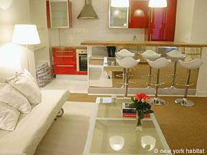 Paris Studio apartment - living room (PA-3038) photo 2 of 7