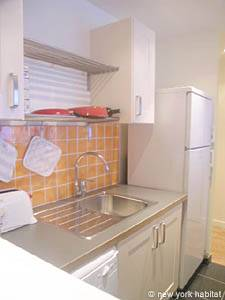 Paris 1 Bedroom accommodation - kitchen (PA-3048) photo 3 of 4