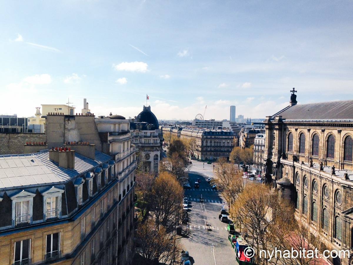 Casa vacanza a parigi 1 camera da letto parc monceau - Casa vacanza a parigi ...