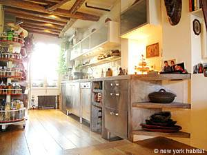 Paris 1 Bedroom - Loft apartment - kitchen (PA-3084) photo 1 of 6