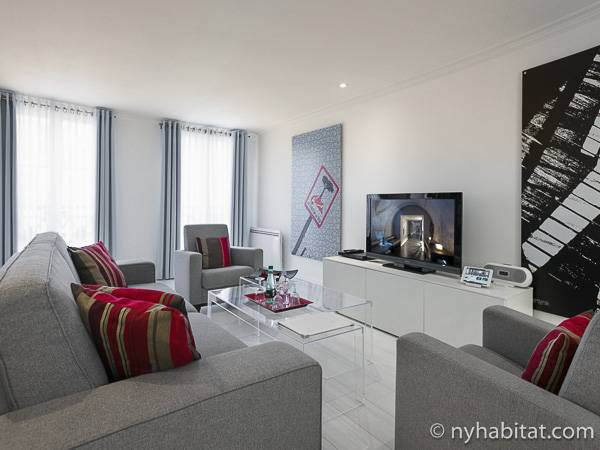 Paris - 3 Bedroom accommodation - Apartment reference PA-3105
