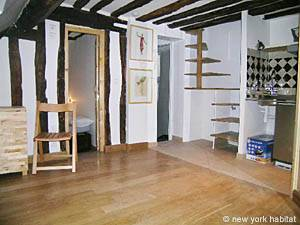 Paris 2 Bedroom - Duplex apartment - living room (PA-3118) photo 6 of 7