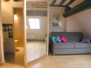 Paris 2 Bedroom - Duplex apartment - living room (PA-3118) photo 2 of 7
